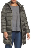 MICHAEL Michael Kors Plus Size Women's Packable Down Long Coat