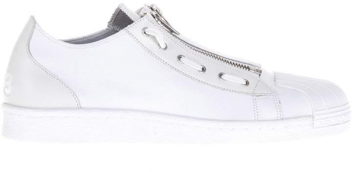 Y-3 Super Zip White Sneakers