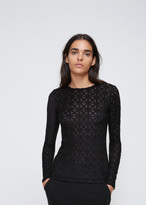 Gareth Pugh Black Long Sleeve Top