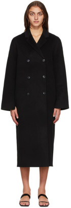 Totême Black Wool Picos Coat