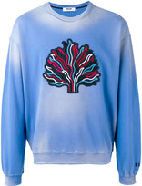 MSGM tree patch sweatshirt - men - Cotton - S