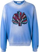 MSGM tree patch sweatshirt