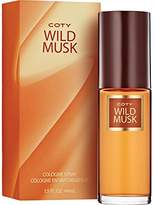Coty Wild Musk Cologne Spray 1.5 Ounce