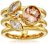 Cole Haan Round Stone Side Cluster Ring, Size 10