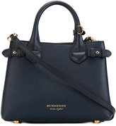 Burberry 'House Check' shoulder bag - women - Cotton/Calf Leather - One Size
