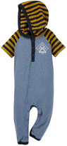 Tea Collection Garaje Hooded Romper (Baby Boys)