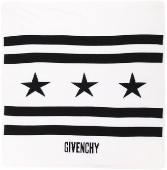Givenchy Kids Striped Star Printed Towel