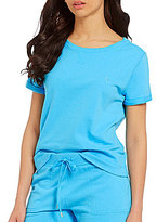 Lauren Ralph Lauren Brushed Terry Sleep Top
