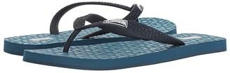 Vilebrequin Copp Rubber Flip-Flop (Teal) Men's Sandals