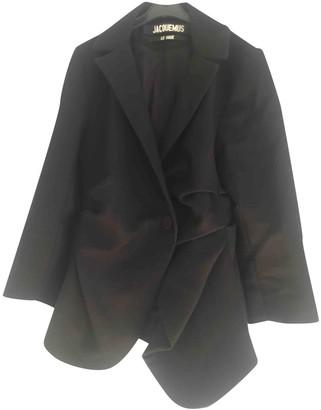 Jacquemus Le Souk Black Wool Jackets