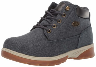 Lugz Men's Drifter Zeo Mid Denim Chukka Boot Navy/Bark/Cream/Gum 8 D US