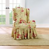 Sure Fit® Ballad Bouquet by WaverlyTM Wing Chair Slipcover