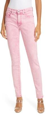 Veronica Beard Kate High Waist Ankle Skinny Jeans
