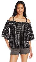 UNIONBAY Women's Everly Sommerville Off Shoulder Top