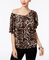 Thalia Sodi Animal-Print Convertible Top, Only at Macy's