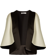 Lanvin Cape-back satin jacket