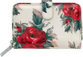 Cath Kidston Small Devonshire Rose Folded Zip Wallet