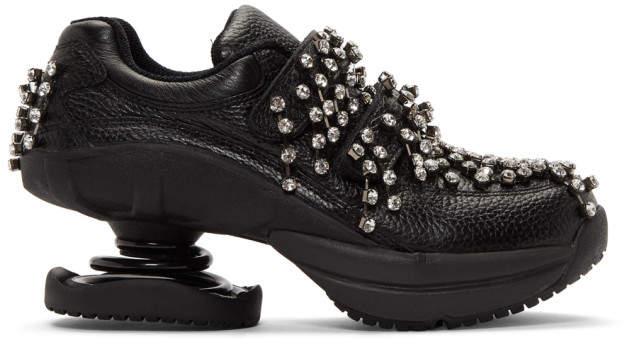 Christopher Kane Black Z-CoiL Edition Legend Sneakers