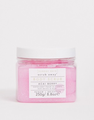 Sunday Rain Body Scrub Acai Berry