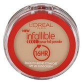 L'Oreal Infallible Never Fail Powder, 0.30 Ounce (Nude Beige)