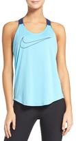 Nike Women's Elastika Graphic Dri-Fit Tank