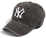 American Needle Women's 'New Raglan - New York Yankees' Baseball Cap - Black