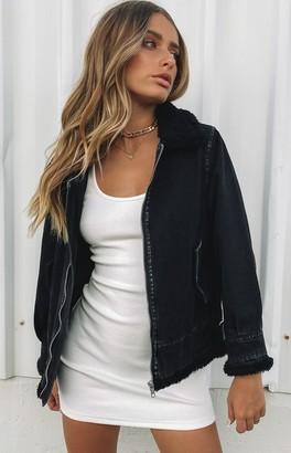 Bb Exclusive Dakota Denim Jacket Black