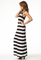 Forever 21 Striped Maxi Dress