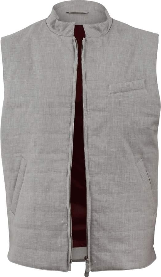 Eleventy Loro Piana Linen Vest