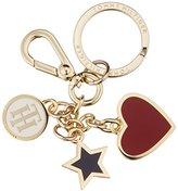 Tommy Hilfiger Womens Heart And Stars Keyfob Keyring