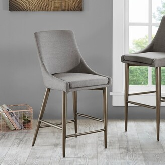 """Madison Home USA Hoover Grey Counter Stool - 19""""w x 23.5""""d x 40.25""""h"""