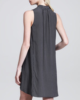 Rag and Bone Rag & Bone Aberdeen Printed Trapeze Dress