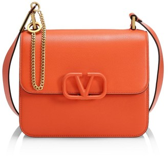 Valentino VSling Leather Crossbody Bag