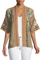 Johnny Was Hira Embroidered Linen Kimono