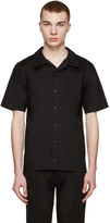 D by D SSENSE Exclusive Black Bowling Shirt