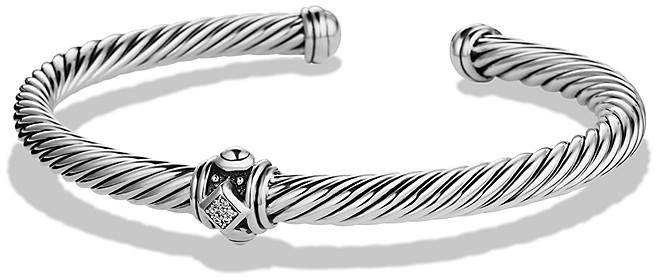 David Yurman Renaissance Station Bracelet with Diamonds