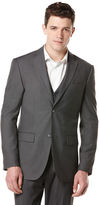 Perry Ellis Big and Tall Solid Charcoal Suit