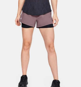 Under Armour Women's UA Launch SW 2-in-1 Shorts