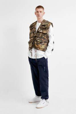 Urban Renewal Vintage Salvaged Deadstock Tree Camo Utility Gilet - assorted M at Urban Outfitters
