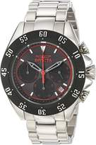 Invicta 22395 Men's Speedway Chronograph Black Dial Stainless Steel Bracelet Watch