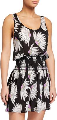 Kate Spade Daisy Smocked Coverup Dress
