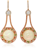 Martin Katz 18K Rose-Gold Multi-Stone Earrings