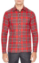 Sandro London Classic Fit Button-Down Shirt