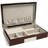 Bey-Berk jwlr Box, Black Wood Lacquer, [Kitchen]