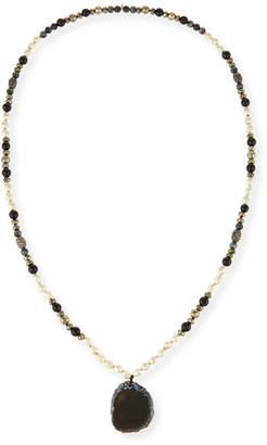Hipchik Romi Agate Slice Necklace