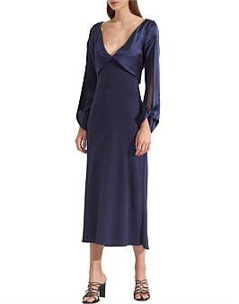 Dion Lee Carpal Twist Long Sleeve Dress