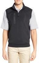 Bobby Jones Men's 'Crawford - Xh20' Stretch Quarter Zip Golf Vest