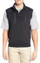 Bobby Jones Men's Xh2O Crawford Stretch Quarter Zip Golf Vest