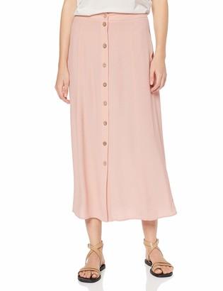 New Look Women's Plain Button Thru Midaxi (6263366) Skirt