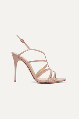 Alexandre Birman Emma Cage Leather Sandals